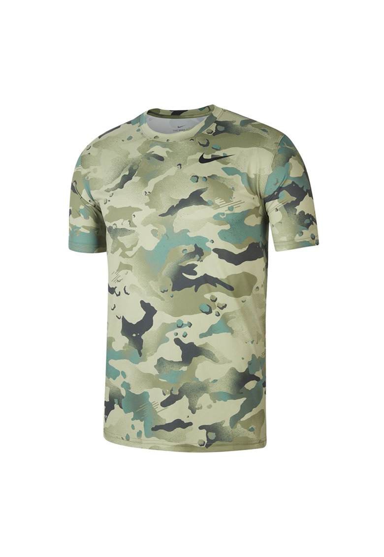 Tricou cu model camuflaj si tehnologie Dri-Fit - pentru antrenament Bărbați imagine