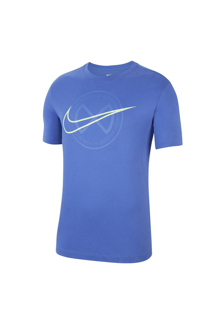 Tricou cu imprimeu si tehnologie Dri-Fit - pentru antrenament imagine