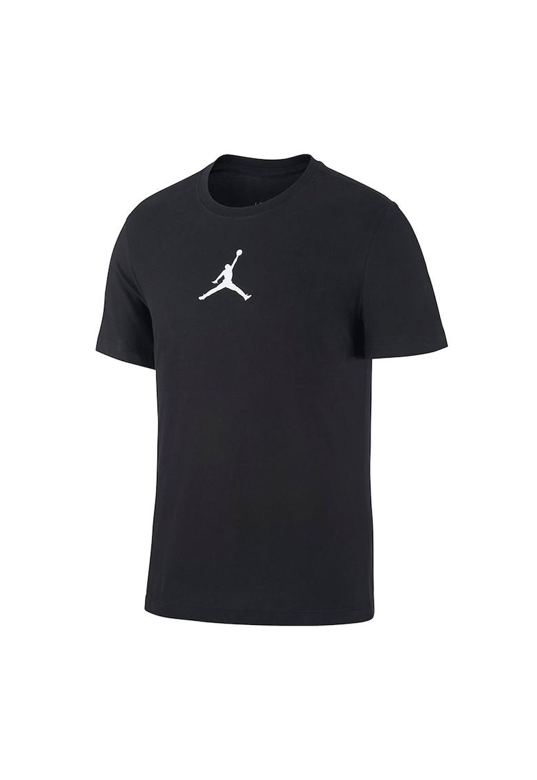 Tricou cu decolteu la baza gatului si detaliu grafic Jordan Jumpman