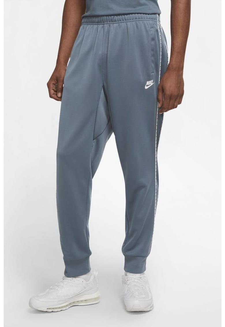 Pantaloni sport cu logo Repeat