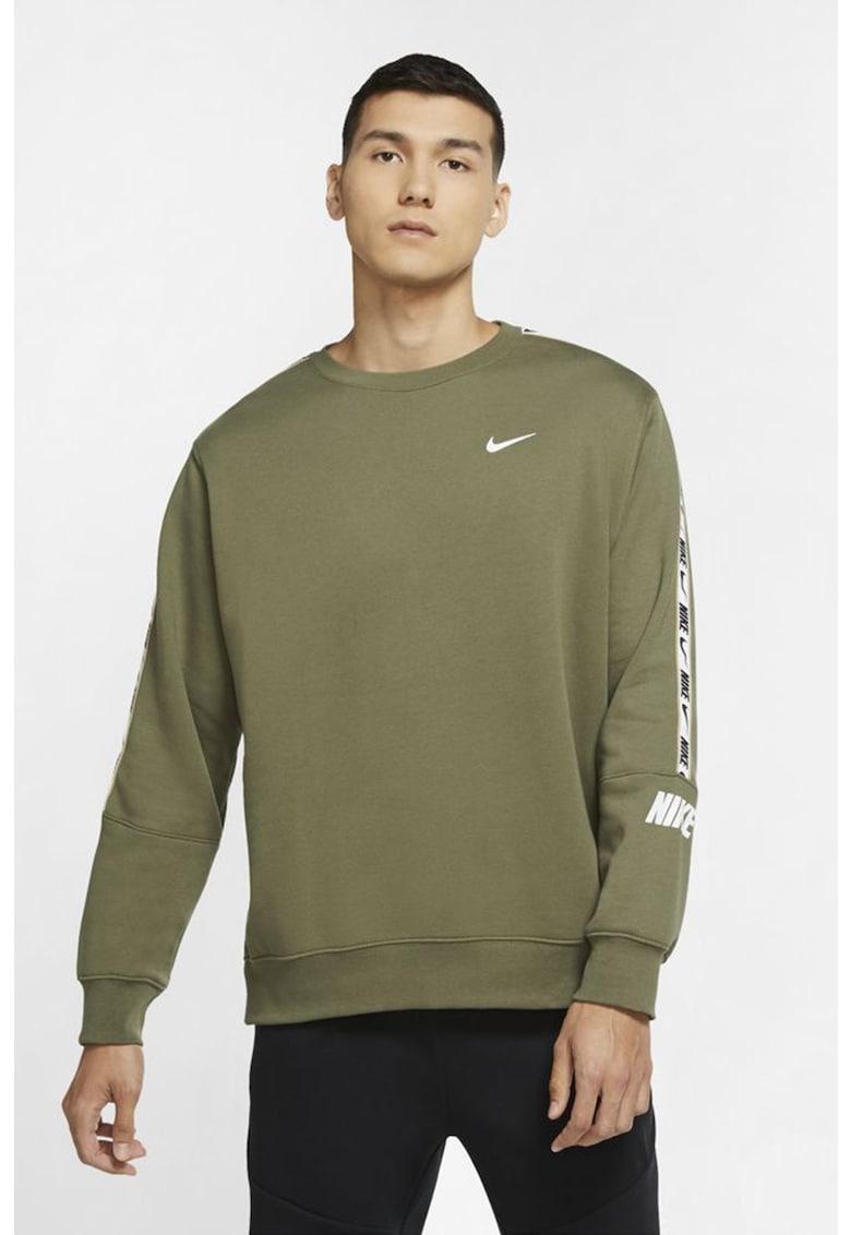 Bluza sport cu benzi laterale cu logo Repeat imagine