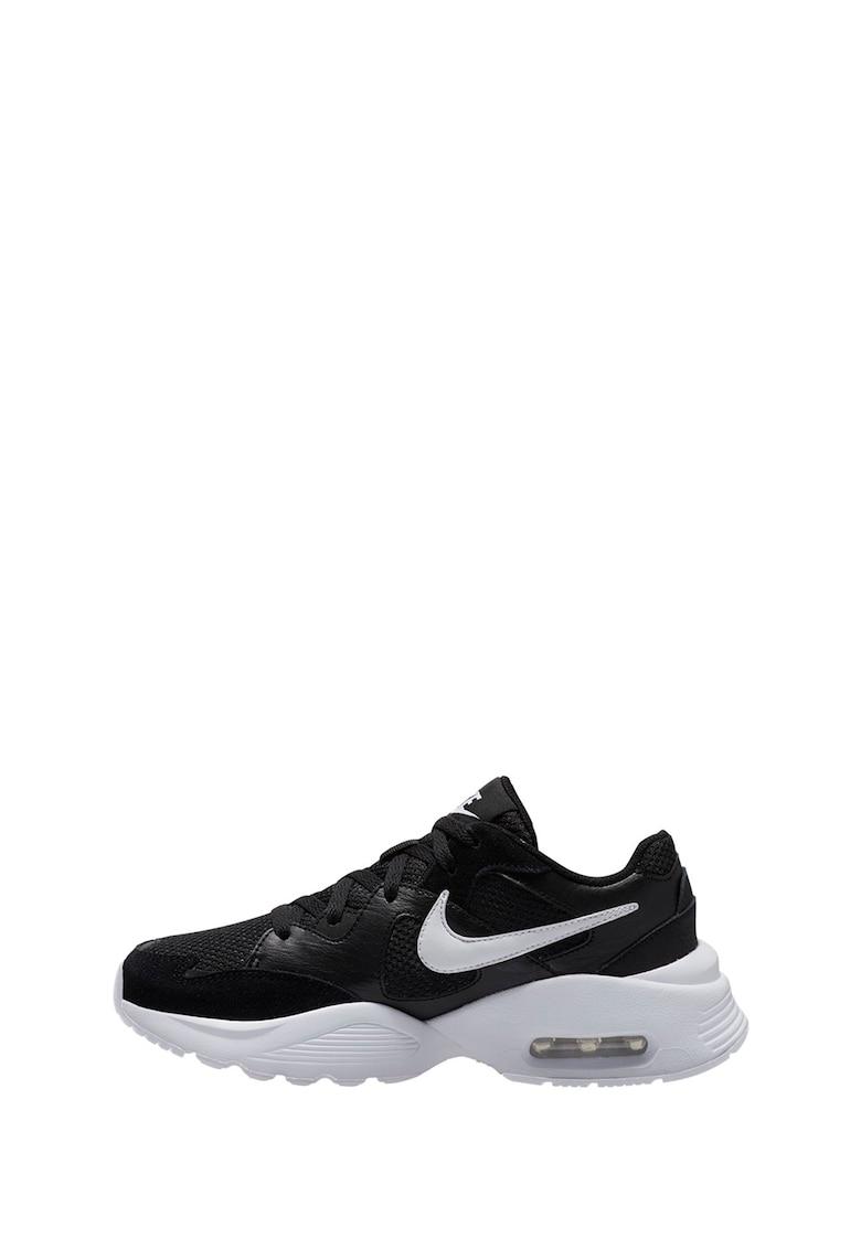 Pantofi sport cu insertii de piele intoarsa Air Max Fusion