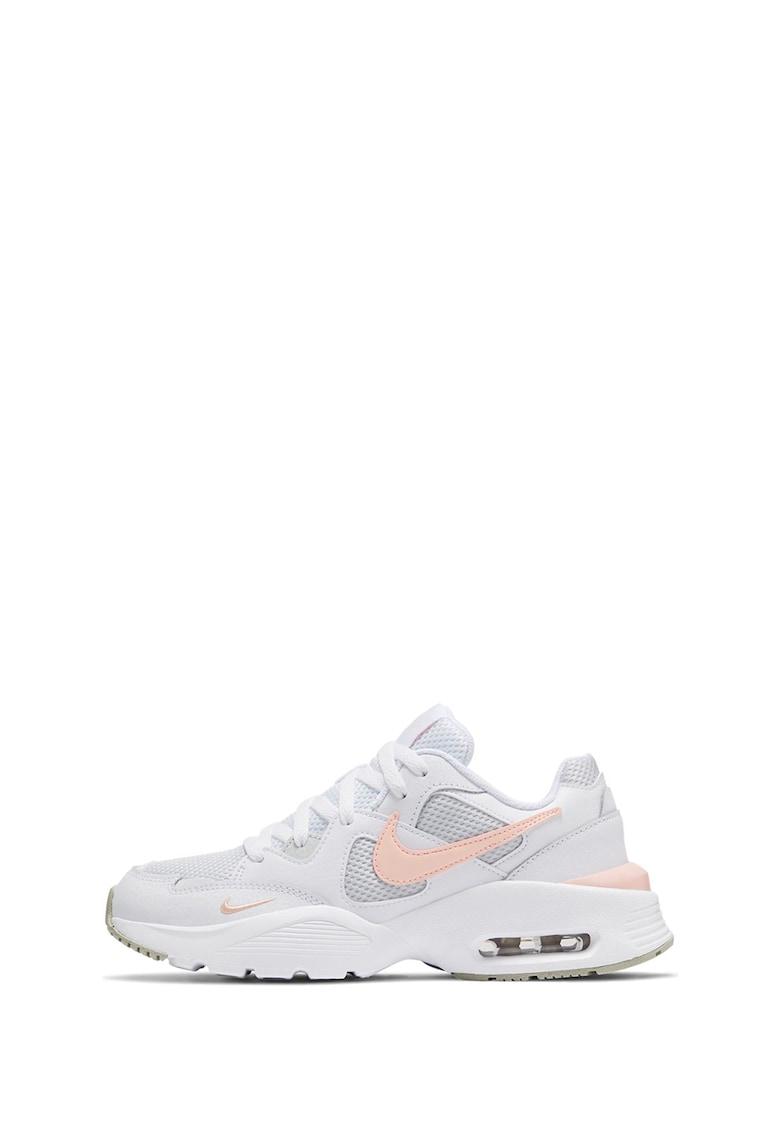 Pantofi de piele cu insertii de plasa - pentru alergare Air Max Fusion