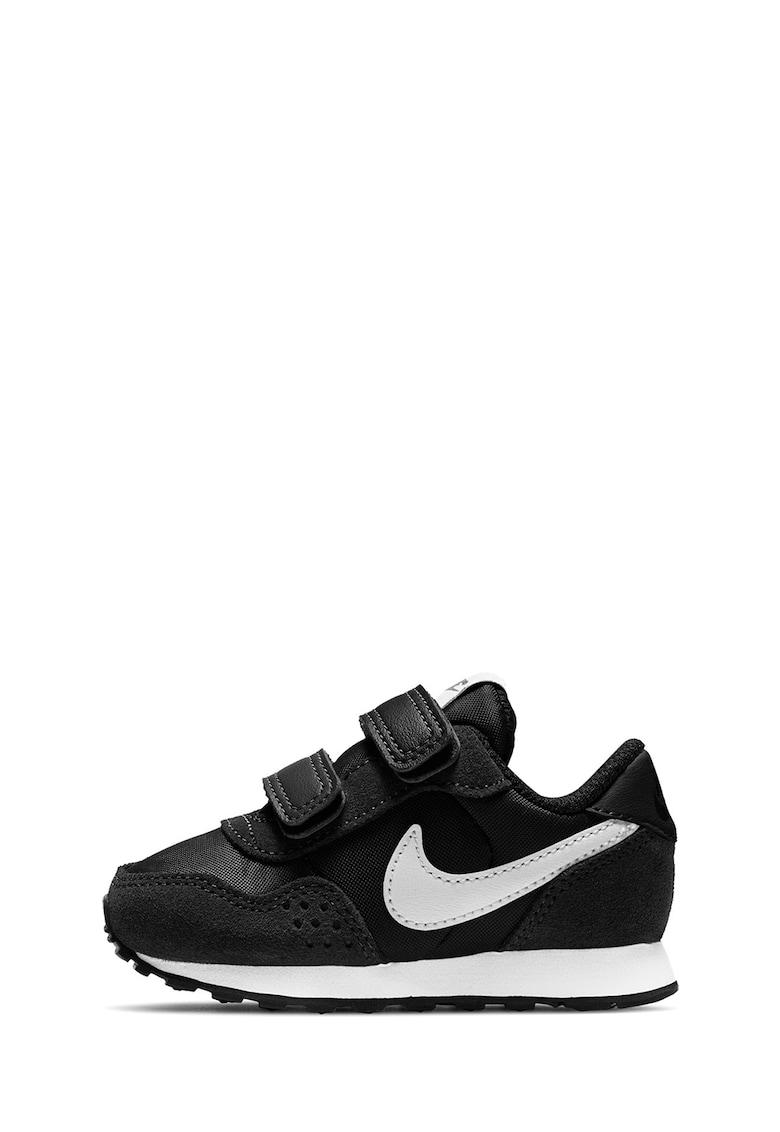 Pantofi din material textil si piele intoarsa cu logo - pentru alergare MD Valiant