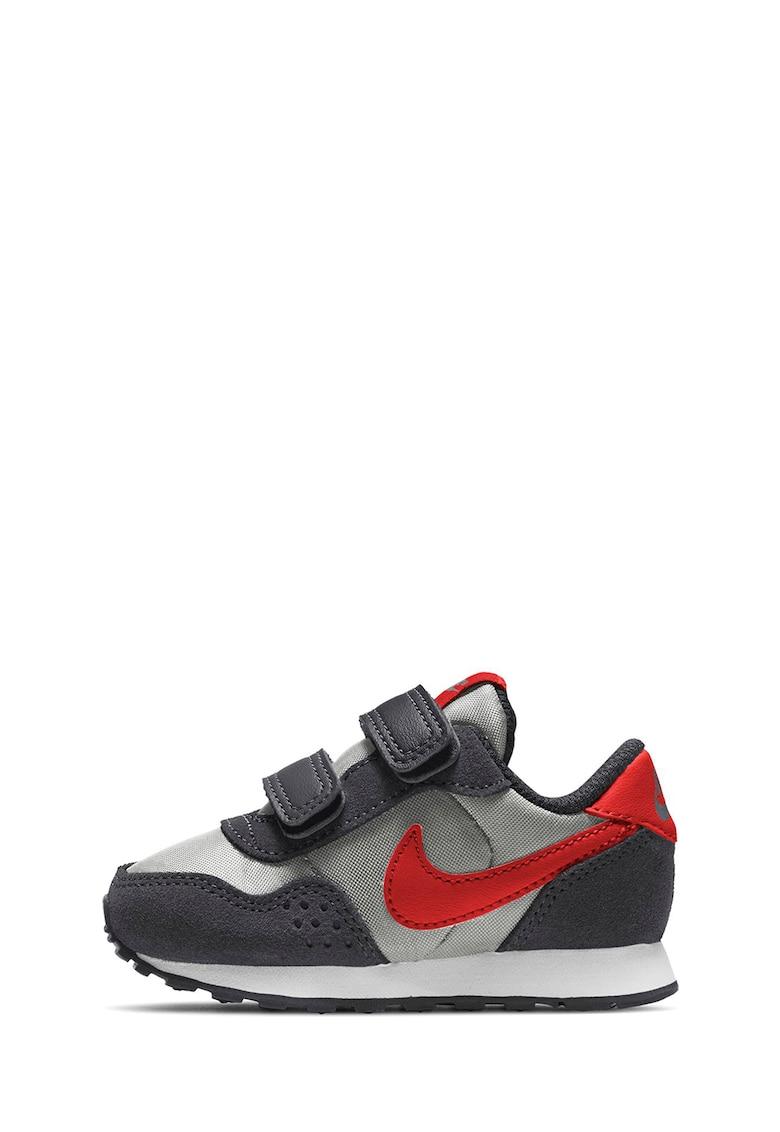 Pantofi de piele intoarsa si material textil - cu logo pentru alergare MD Valiant imagine