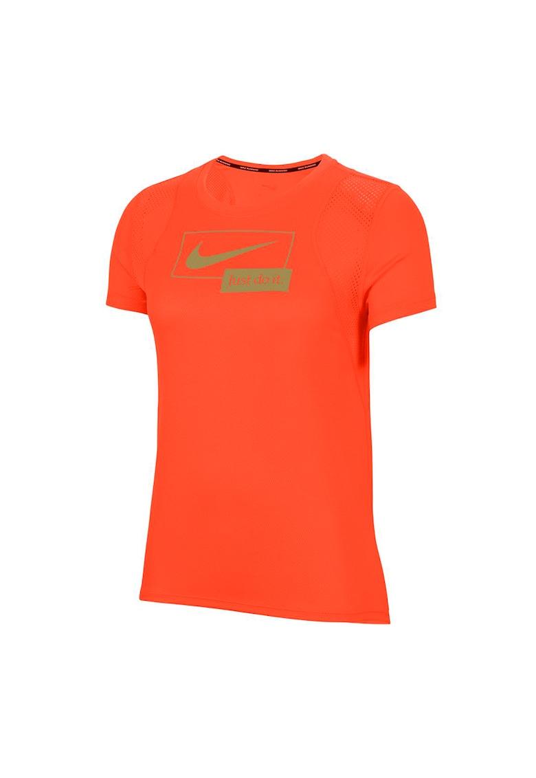 Tricou cu tehnologie Dri-Fit pentru alergare Icon Clash imagine
