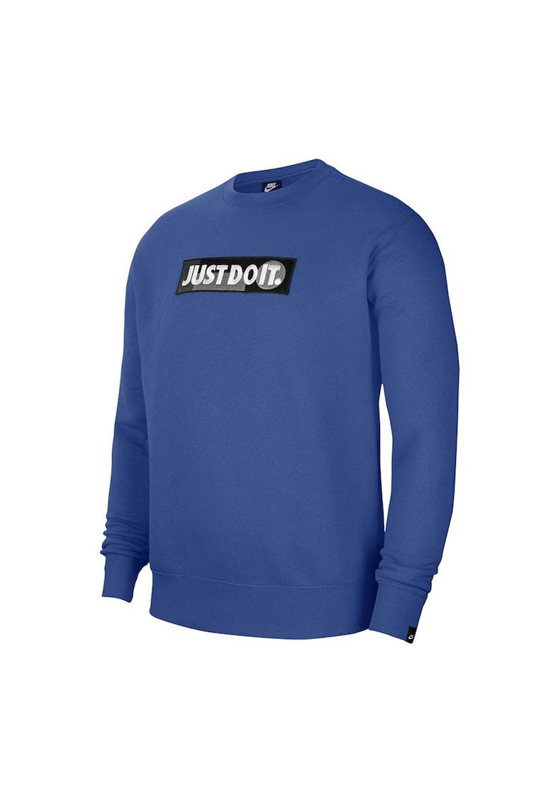 Bluza sport cu imprimeu logo JDI imagine