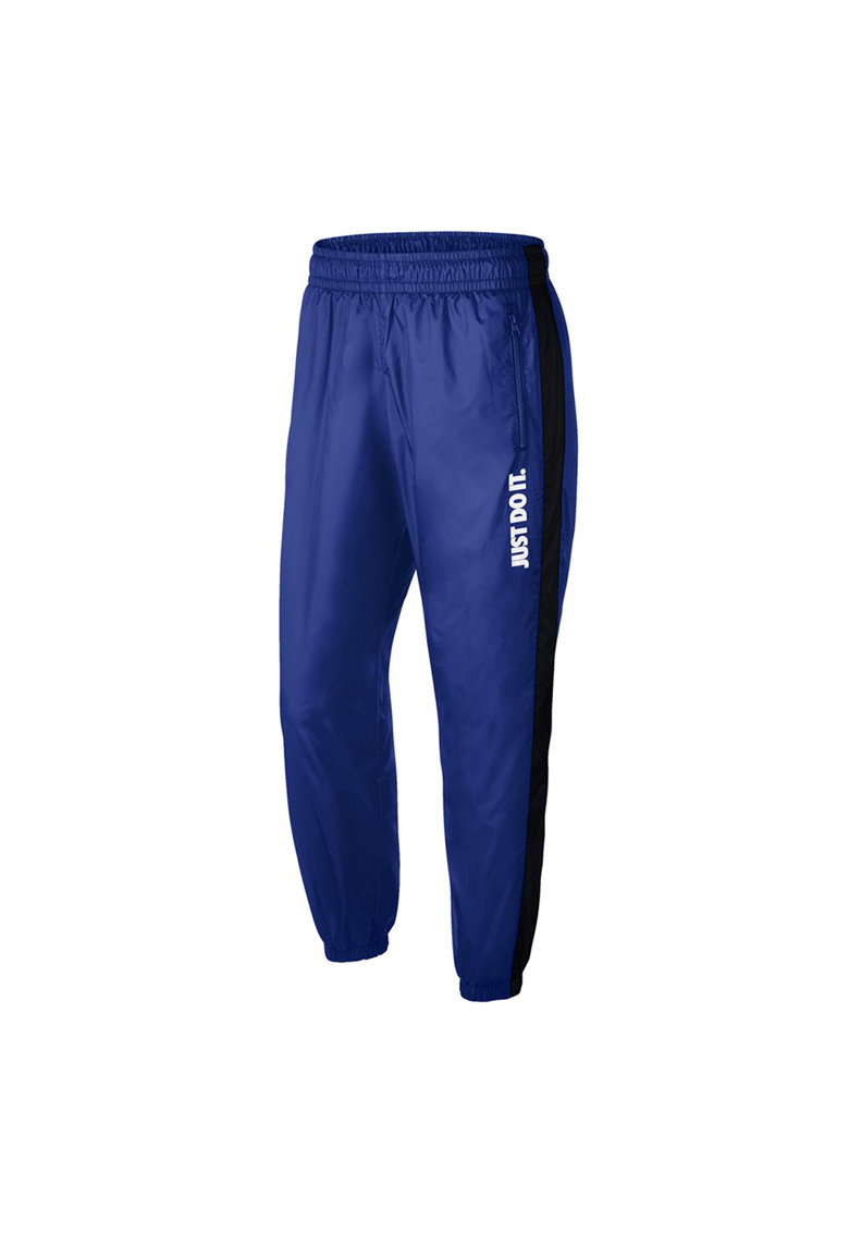 Pantaloni sport cu terminatii elastice la glezne JDI fashiondays.ro