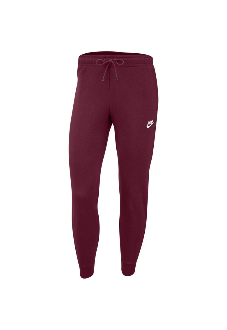 Pantaloni sport slim fit cu snur in talie Essential