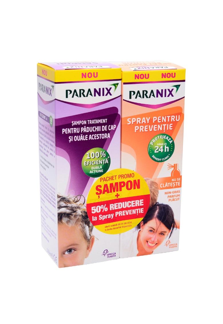 Pachet Paranix Sampon Antipaduchi - 100 ml + Spray pentru preventie la Pret Special Paranix - 100 ml fashiondays.ro