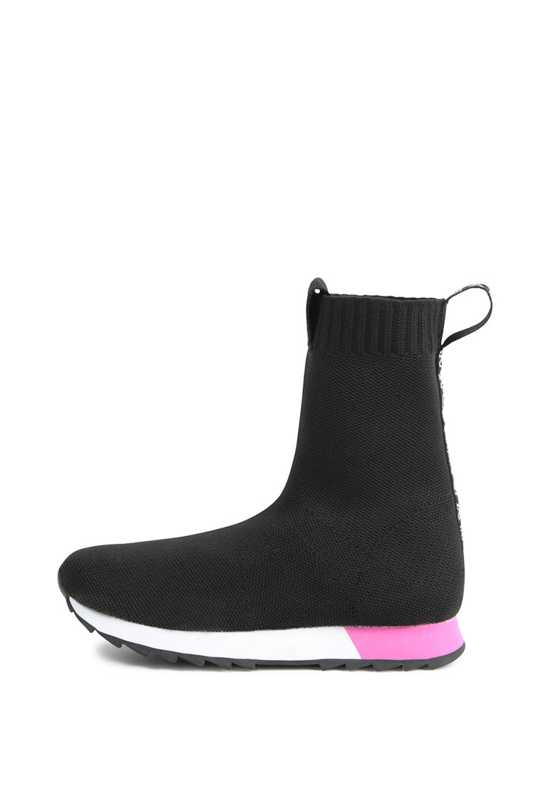 Pantofi sport high-cut slip-on