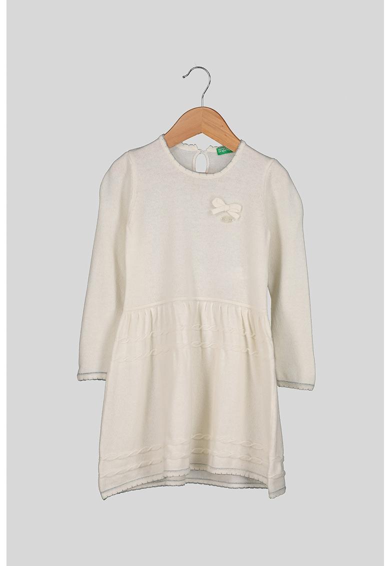 Rochie tricotata fin din amestec de lana