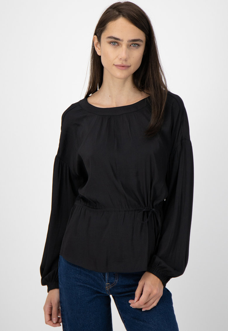 Bluza cu snur de ajustare in talie imagine fashiondays.ro