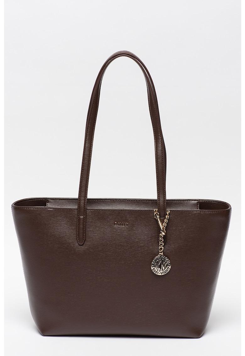 Geanta shopper de piele Bryant DKNY fashiondays.ro