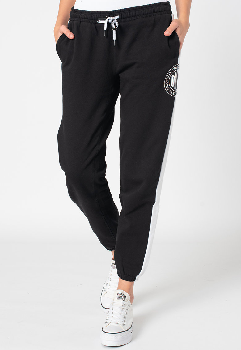 Pantaloni sport conici relaxed fit imagine promotie