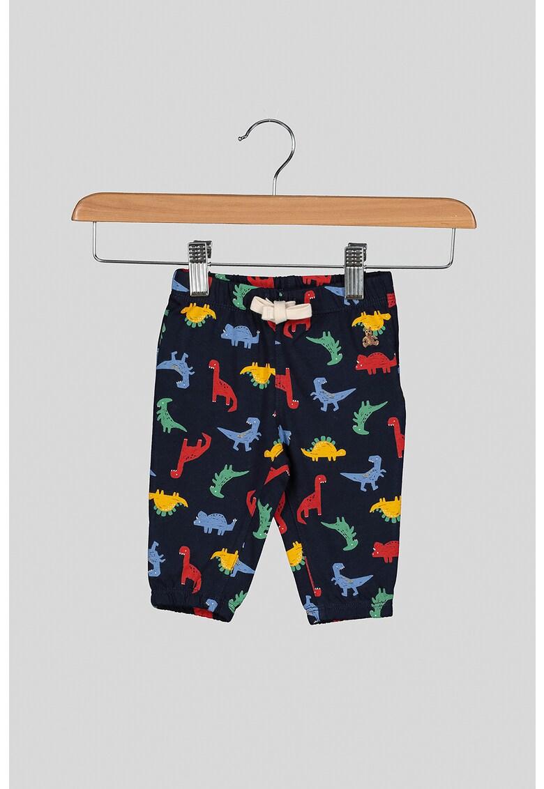 Pantaloni sport cu imprimeu cu dinozauri imagine