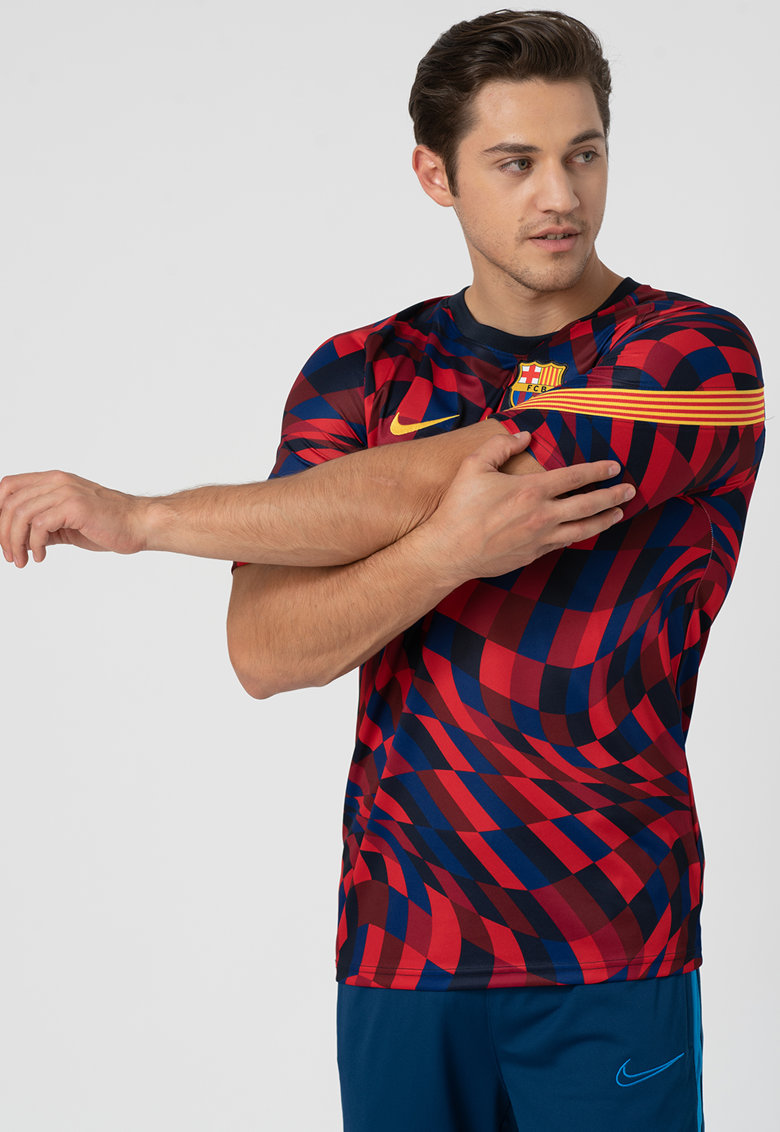 Tricou cu tehnologie Dri-Fit pentru fotbal FC Barcelona imagine
