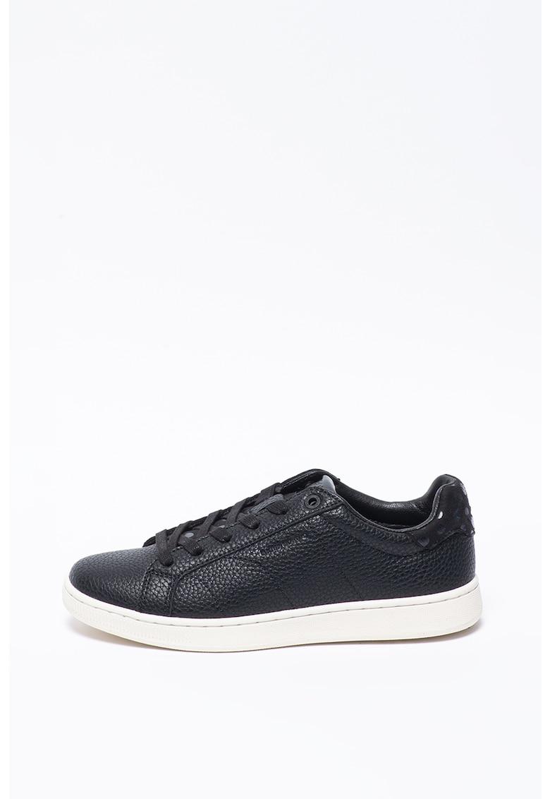 Pantofi sport din piele ecologica cu buline