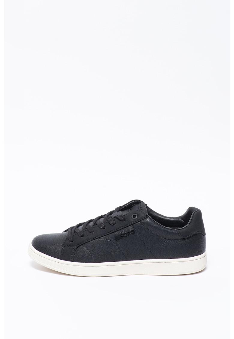 Pantofi sport low-top din piele ecologica T306