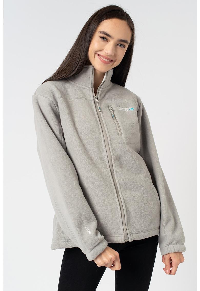 Bluza sport din fleece - cu fermoar Uzele