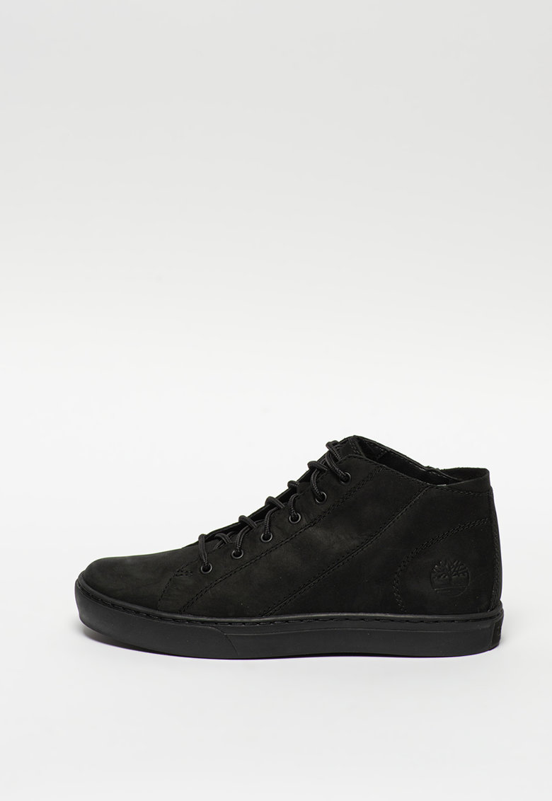 Pantofi sport mid-high de piele nabuc Adventure