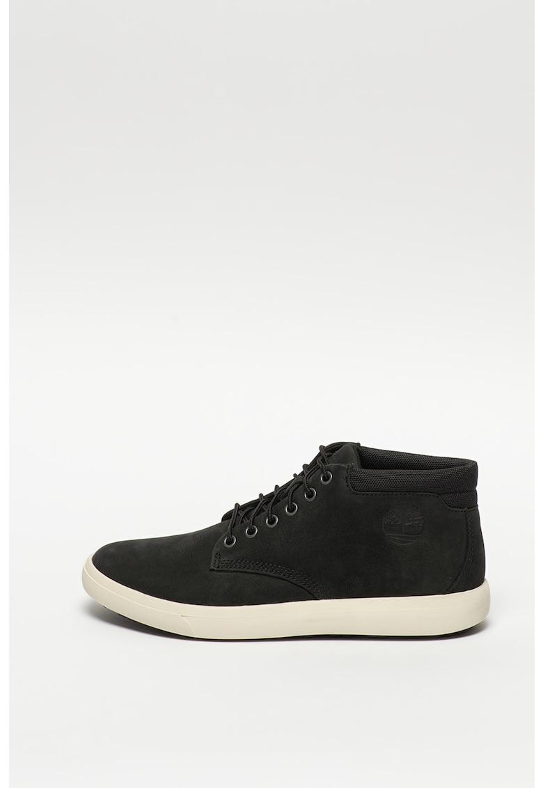 Pantofi sport inalti de piele nabuc Ashwood Park