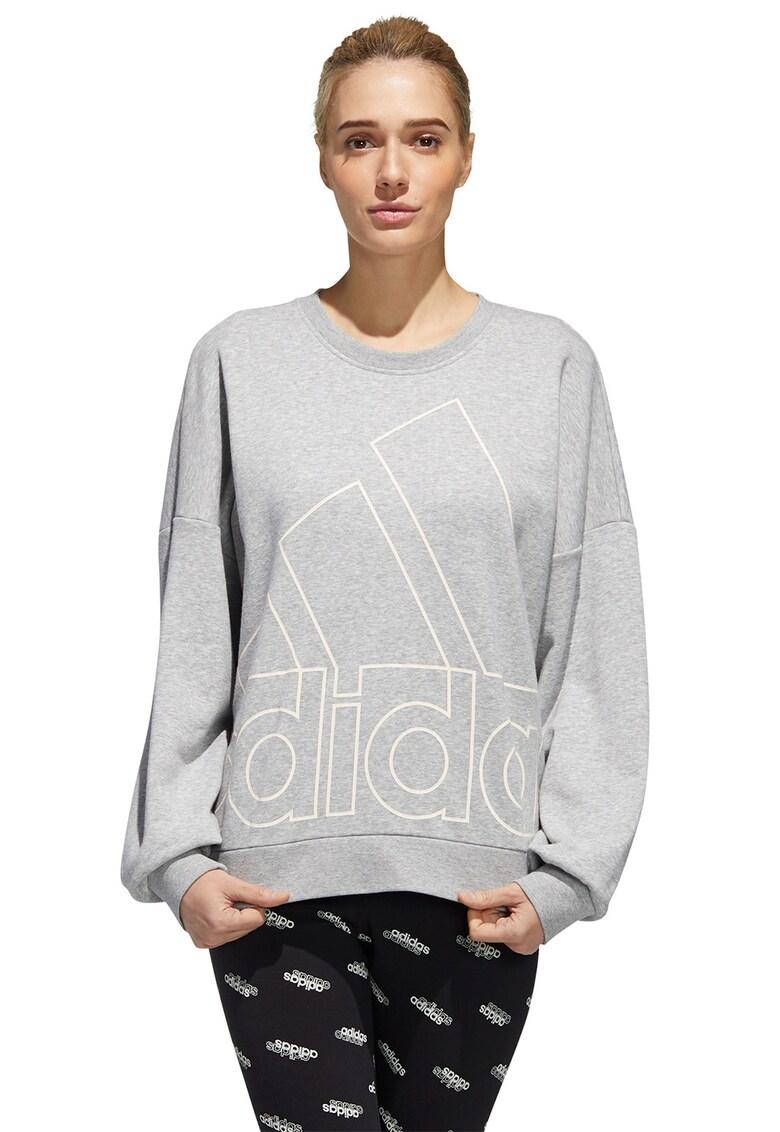 Bluza sport lejera cu logo imagine fashiondays.ro