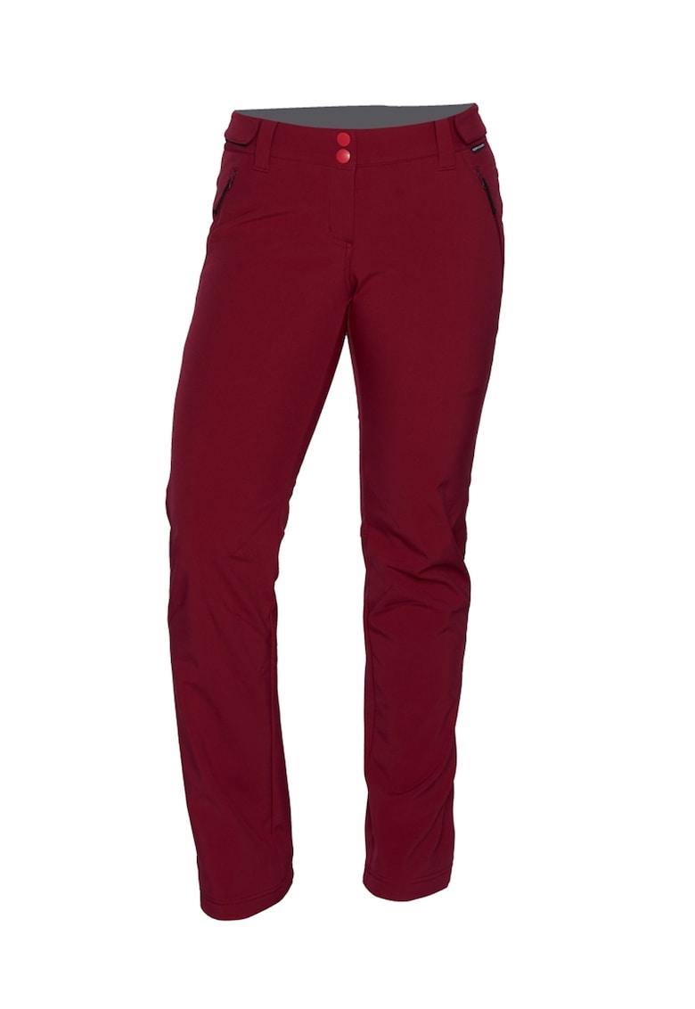 Pantaloni impermeabili si rezistenti la vant cu talie ajustabila Softshell
