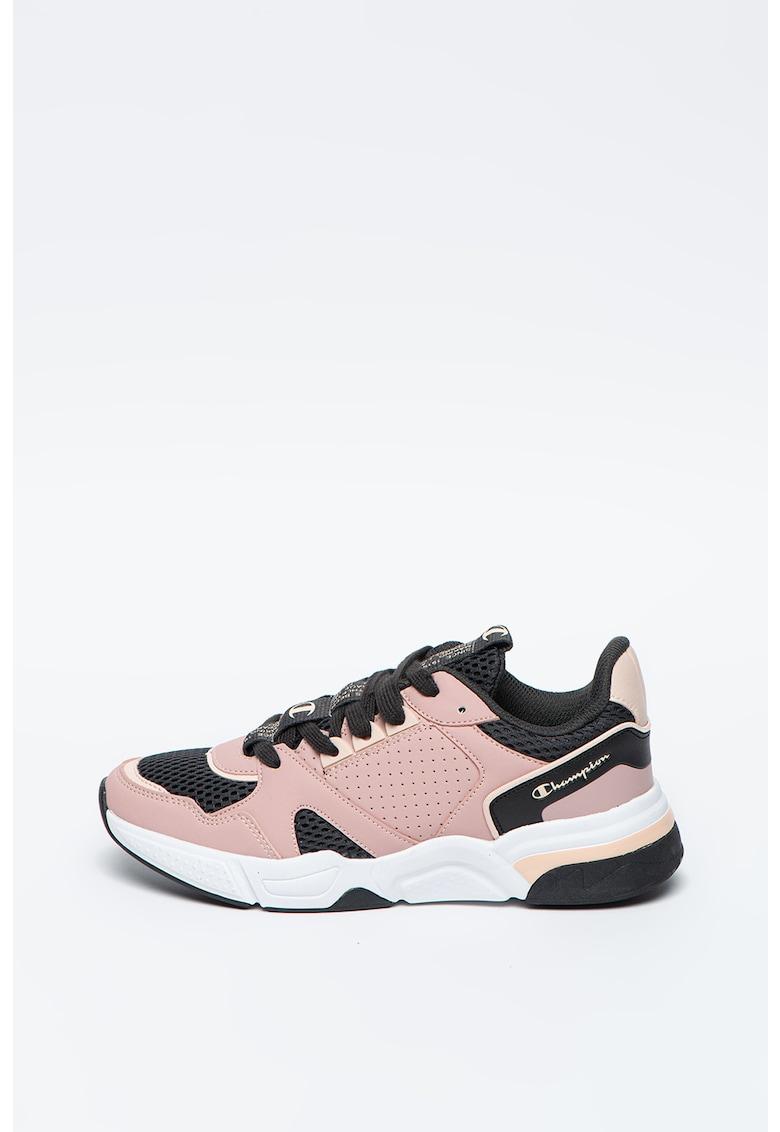 Pantofi sport cu model colorblock Jamaica imagine promotie