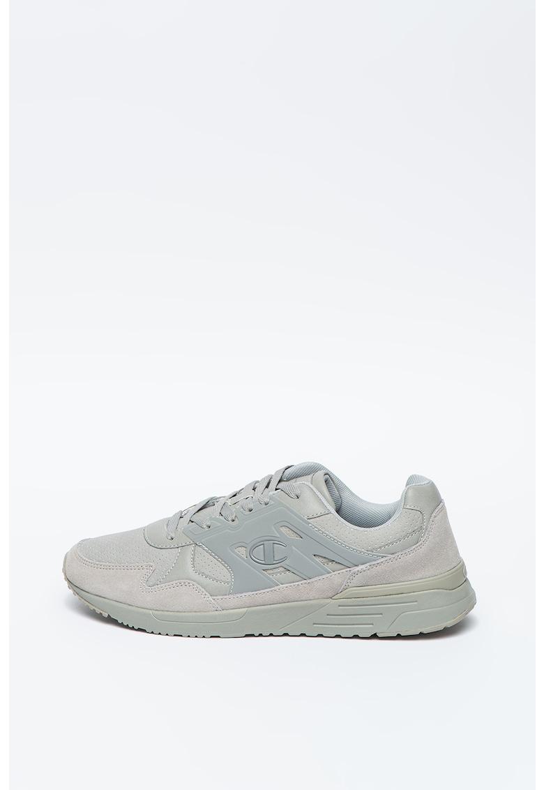 Pantofi sport cu insertii de piele intoarsa Keiro imagine promotie