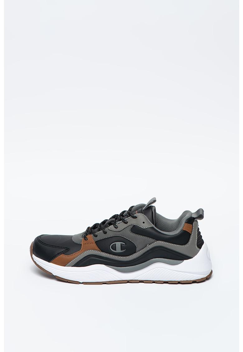 Pantofi sport de piele ecologica Roger