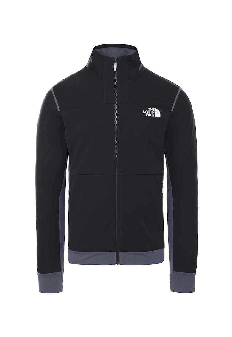 Jacheta elastica - rezistenta la vant - cu model colorblock Speedtour imagine