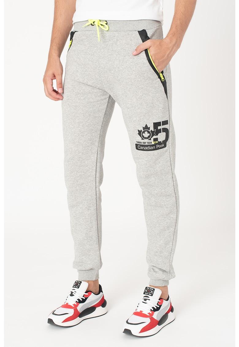Pantaloni sport conici cu buzunare oblice Midel