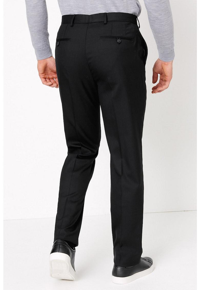 Pantaloni eleganti din amestec de lana imagine