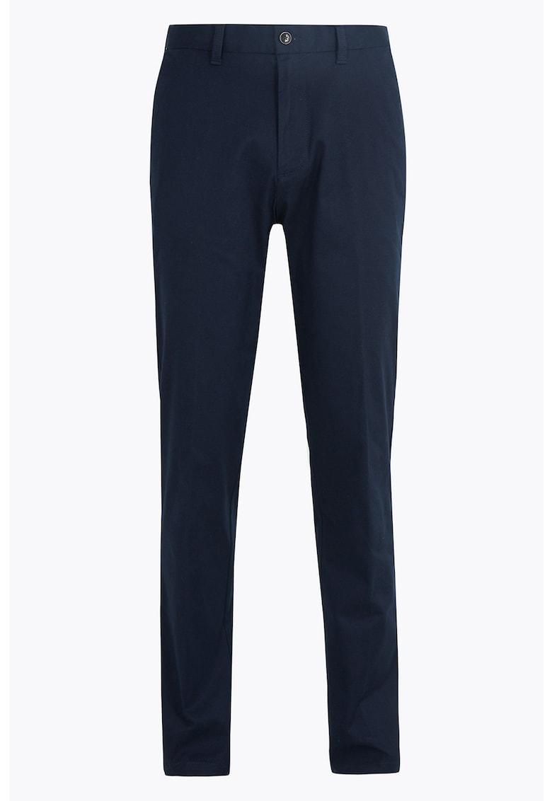 Pantaloni chino elastici regular fit