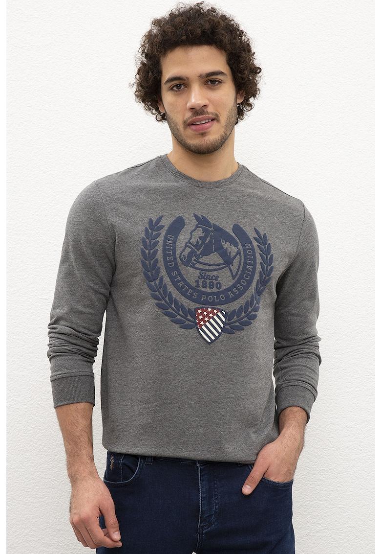 Bluza cu imprimeu grafic imagine