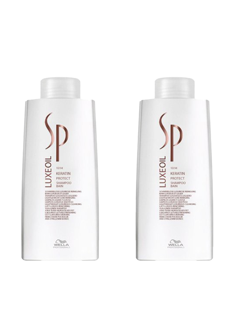 Wella Professionals Pachet promo  SP Luxe Oil Keratin Protect: Sampon  - 2 X 1000 ml