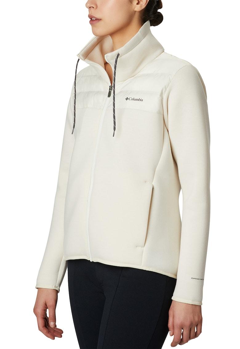Bluza cu captuseala din fleece si fermoar - pentru drumetii Northern Comfort Hybrid imagine