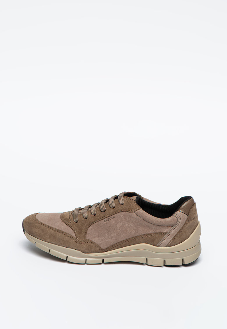 Pantofi sport respirabili din piele intoarsa cu garnituri din piele ecologica Sukie poza fashiondays