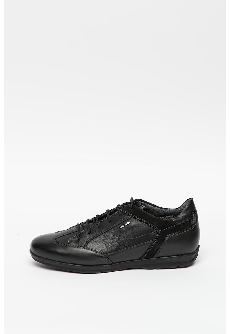 Pantofi casual din piele si piele ecologica Adrien imagine