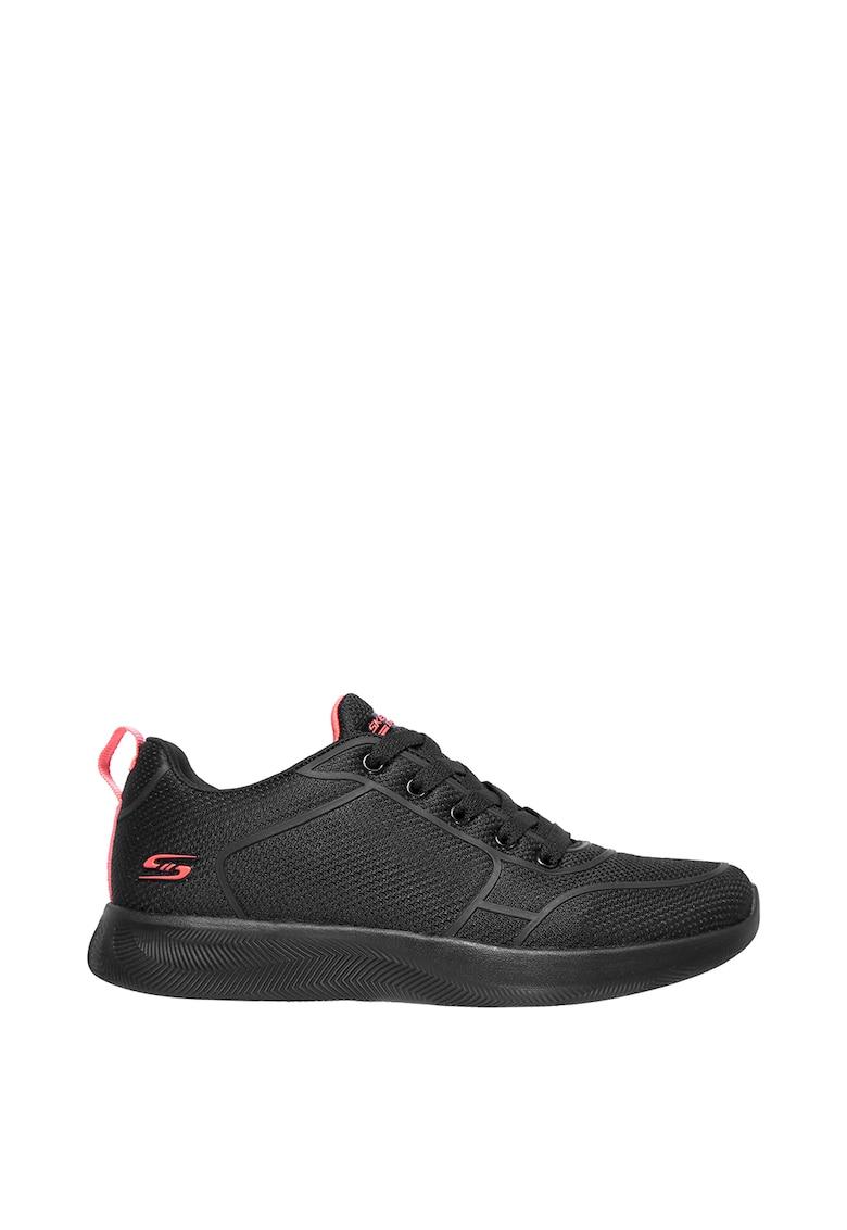 Pantofi sport din plasa cu detalii peliculizate Bobs Squad 2 imagine