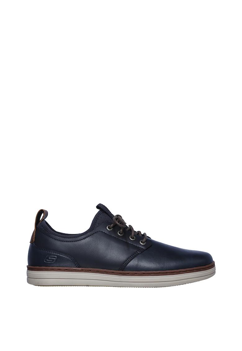Pantofi casual din piele Heston - Rogic imagine