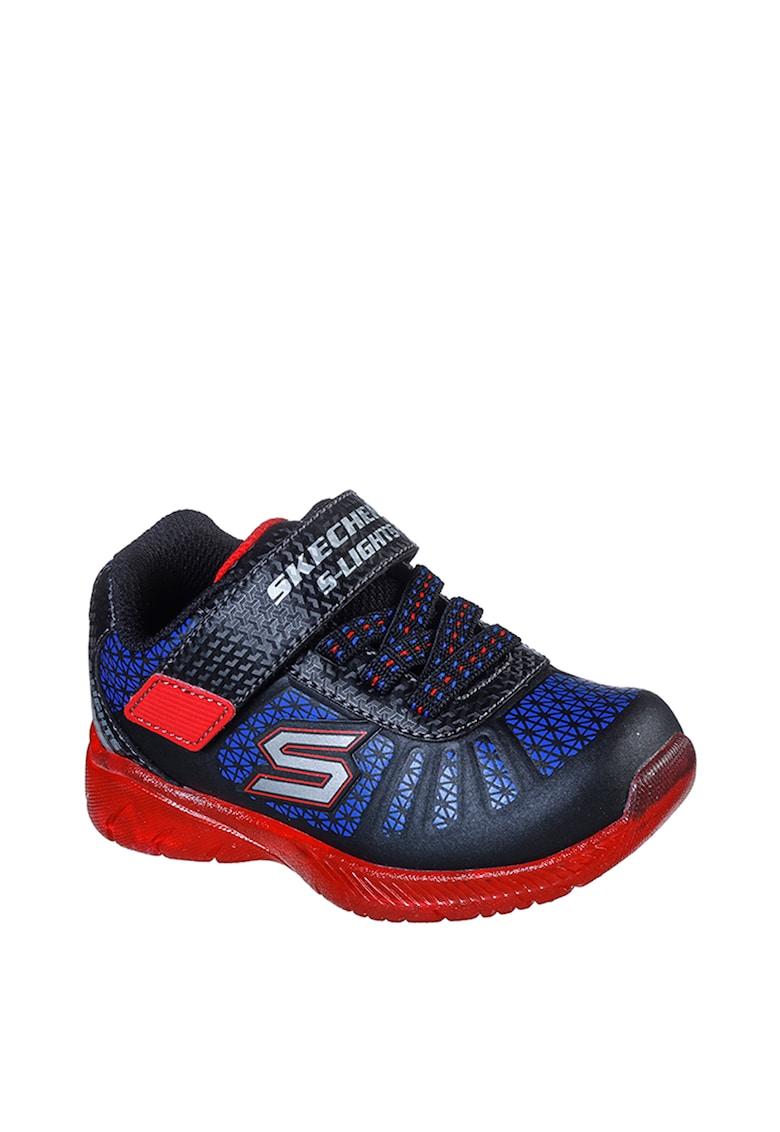 Pantofi sport cu velcro S Lights: Ilumi-Brights Tuff Track imagine