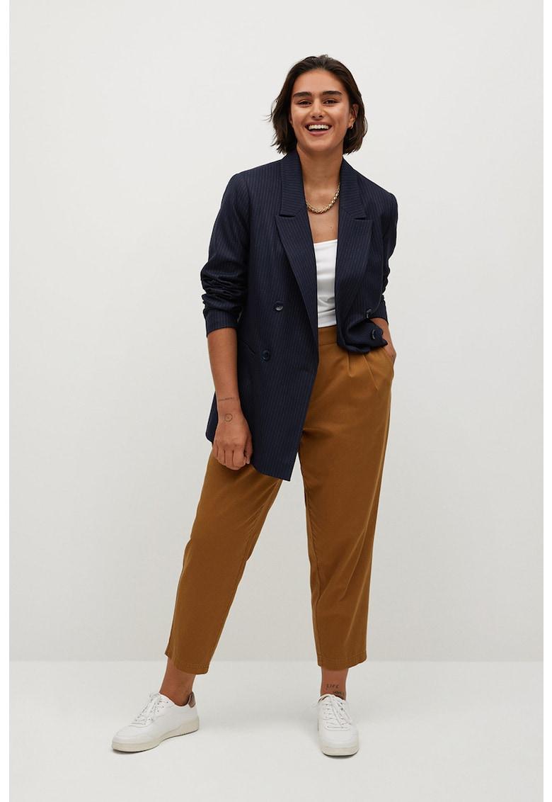 Pantaloni crop Newpepi imagine fashiondays.ro