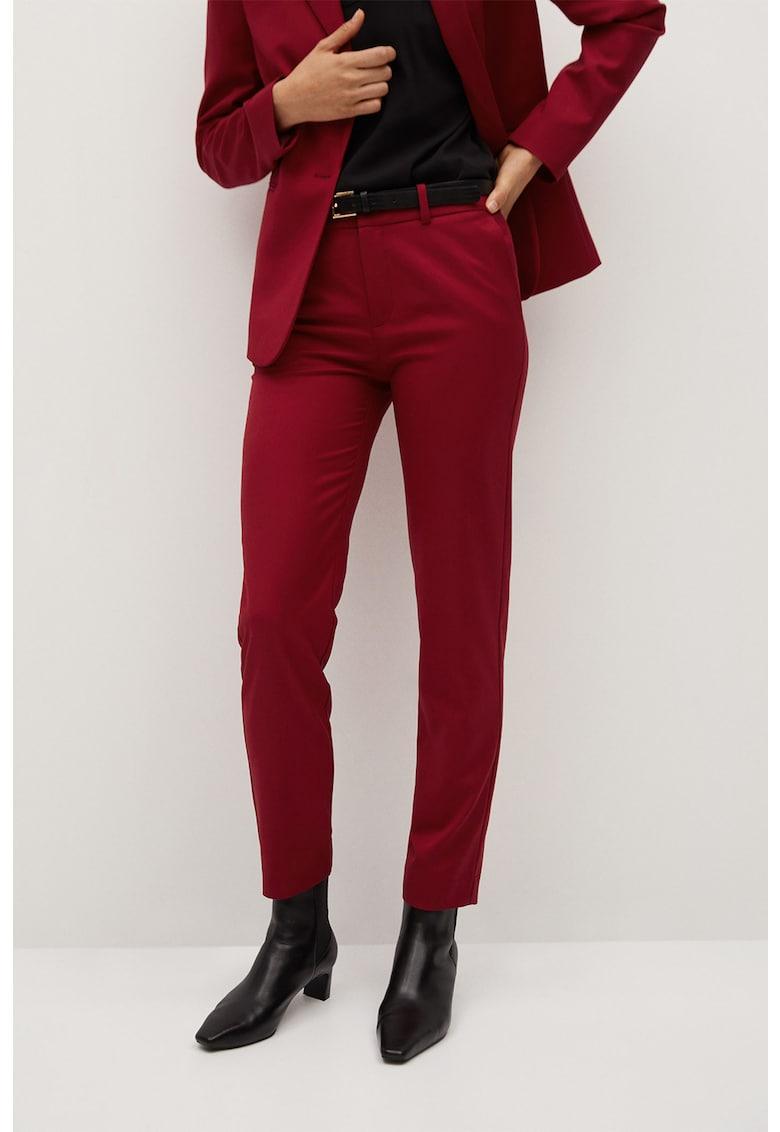 Pantaloni slim fit cu o curea Boreal imagine promotie