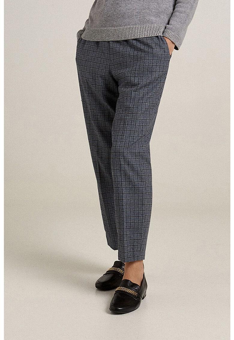 Pantaloni conici cu snur
