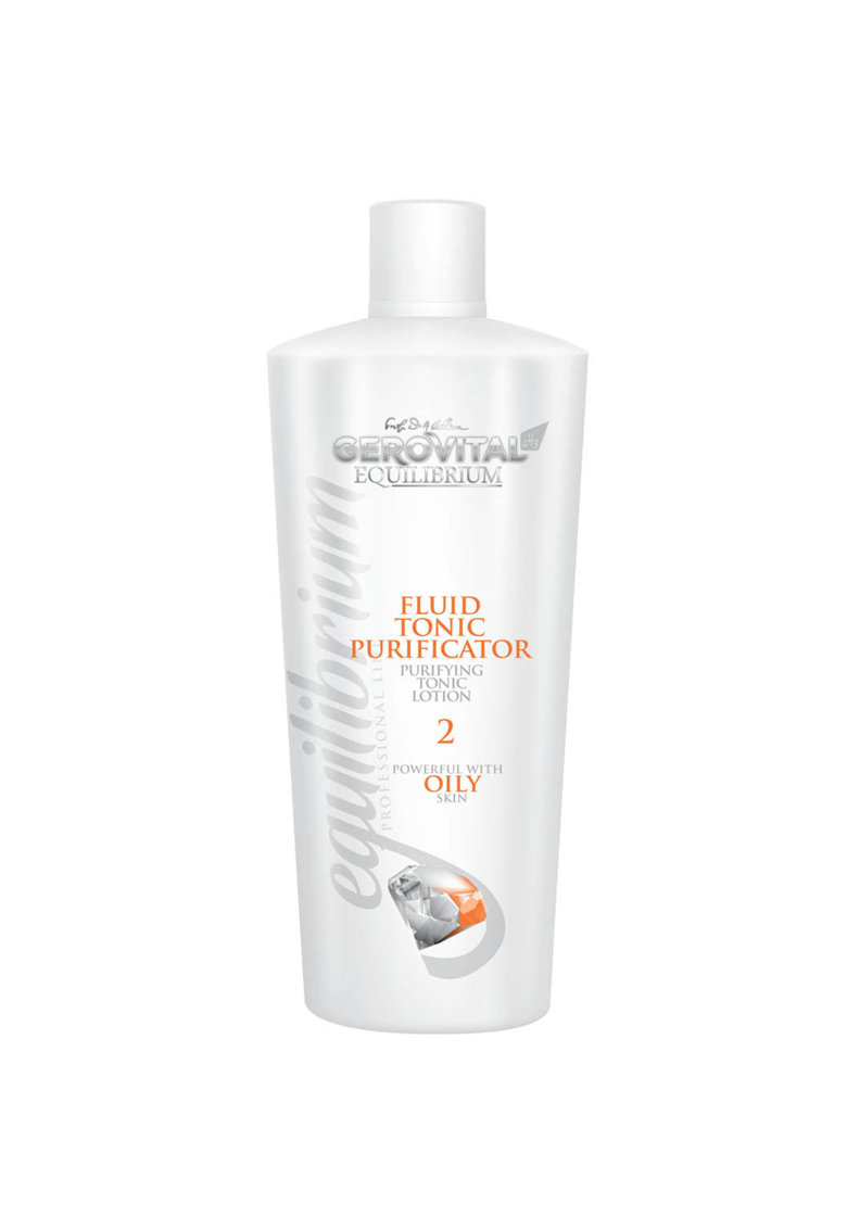 Gerovital Fluid tonic purificator  H3 Equilibrium - 500 ml