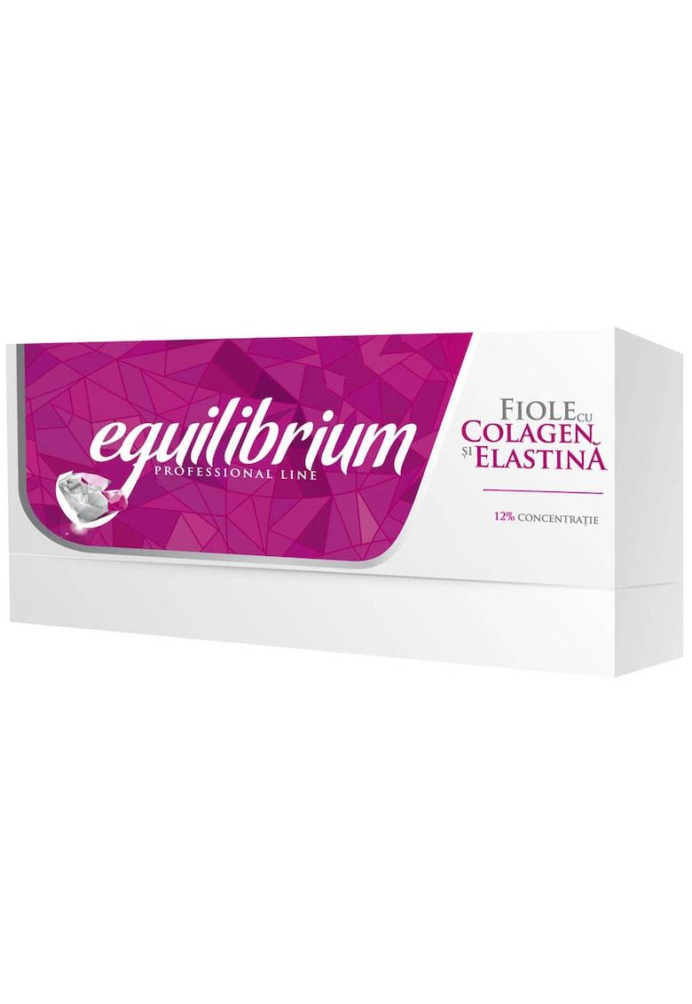 Gerovital Fiole cu Colagen si Elastina  H3 Equilibrium - 20 buc x 2 ml