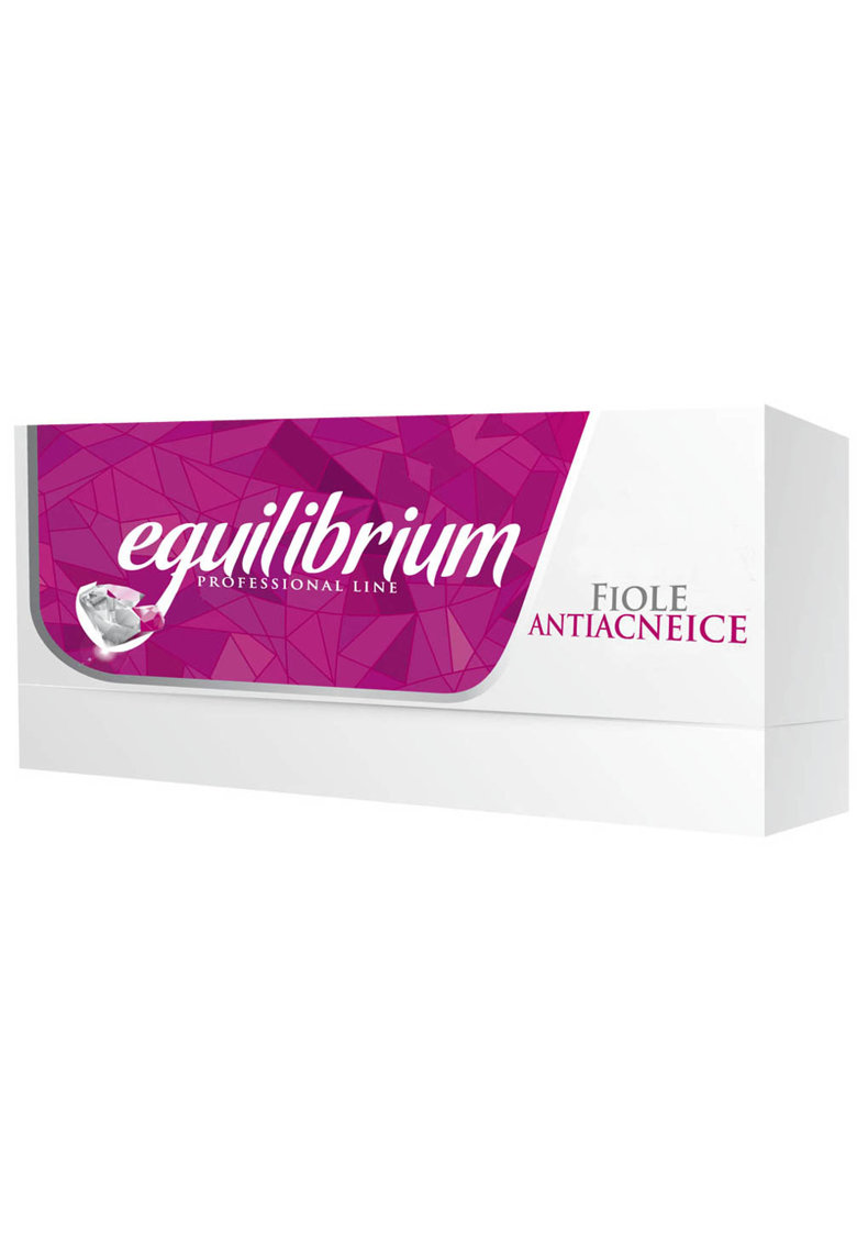 Gerovital Fiole Antiacneice  H3 Equilibrium - 20 buc x 2 ml