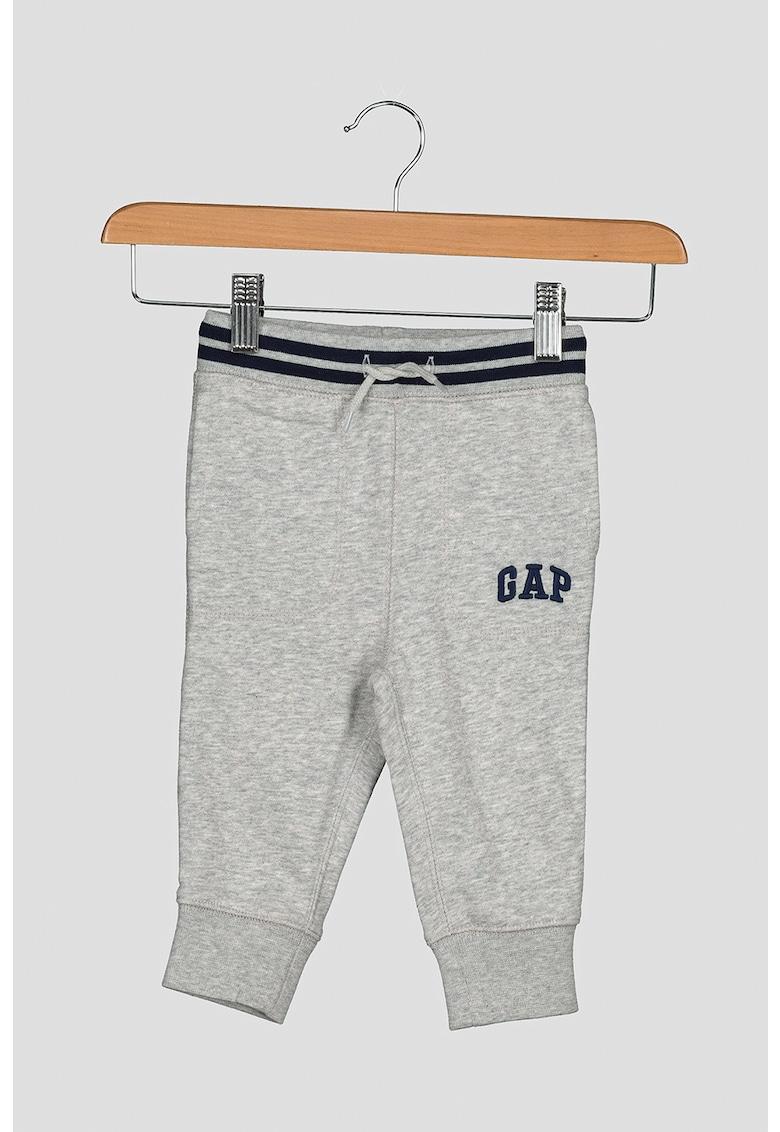 Pantaloni sport cu talie in dungi imagine fashiondays.ro